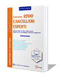 libro CONCORSO 2700 CANCELLIERI ESPERTI