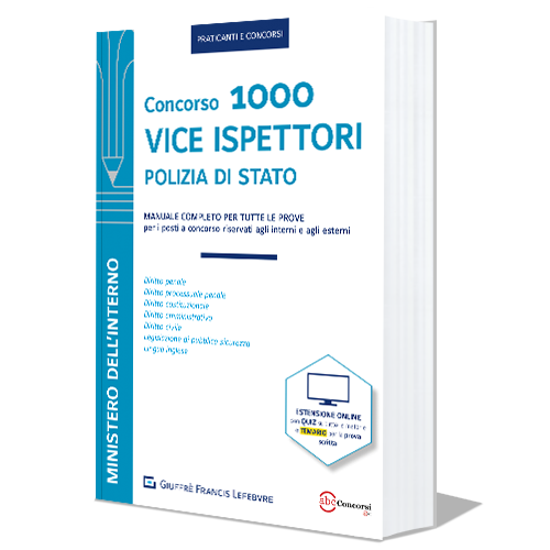 libro CONCORSO 1000 VICE ISPETTORI